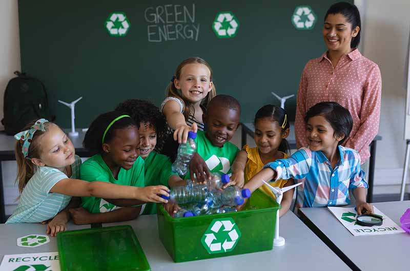 How Playgrounds Can Help Teach The Importance Of Recycling